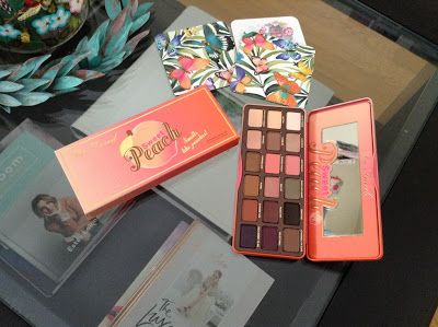 Too Faced Sweet Peach palette | Beauty Notes by Athina