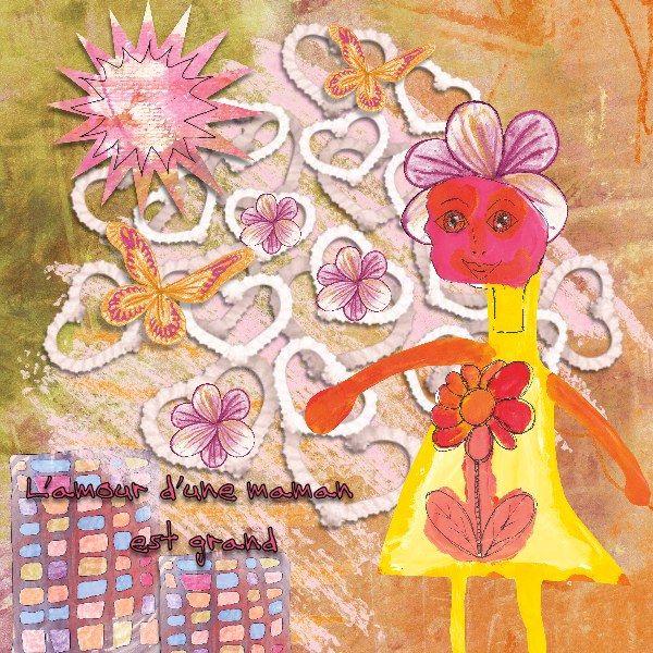 Page créée avec eléments et kits par Les Idées de Christine  Tous les kits de Christine Martin sont dessinés à la main et sont en vente ici http://digitalscrapbookpages.com/digitals/ Nouveau pack Gribouillages 5 utilisé sur cette page et disponible ici: http://digitalscrapbookpages.com/digitals/index.php?main_page=product_info&cPath=26_355&products_id=32862