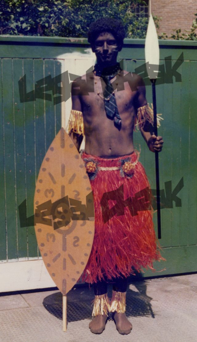 Legal Cheek: Ex-senior partner at Slaughter & May, blacked up at the firm's comedy skit as a Zulu in 1979... What even is this.