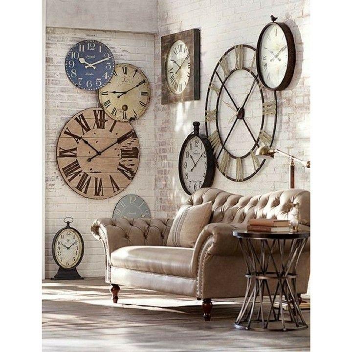 Dimanche Avez Vous Pensé à Avancer Votre Montre D Une Heure Ce Matin Après Le Printemps On Pass Large Wall Clock Decor Clock Decor Clock Wall Decor