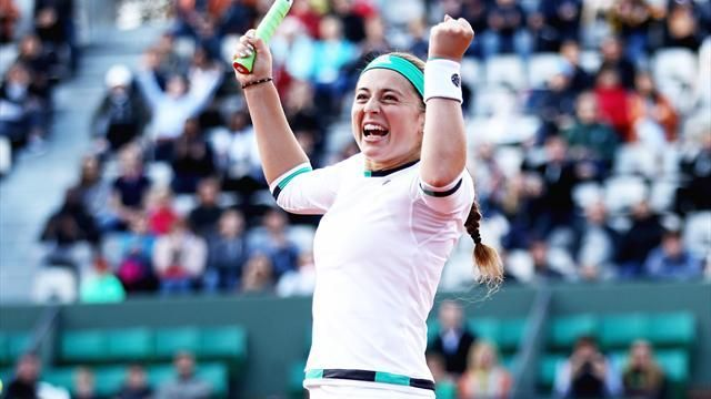July 11 2017 - Ostapenko makes Wimbledon quarters to keep double dream alive - Read more sport news on The Notice Centre