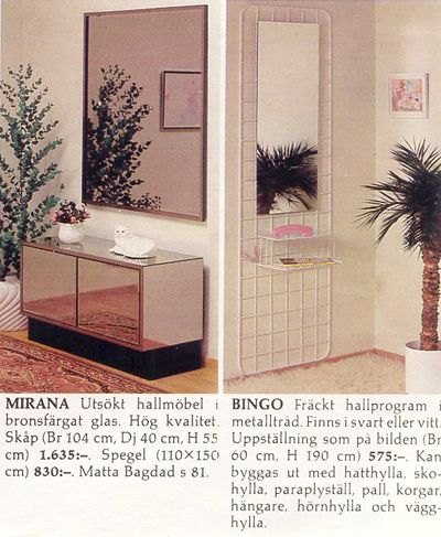 Retrophilia - Mio 87/88 - Sovrum, Hallmöbler & Diverse