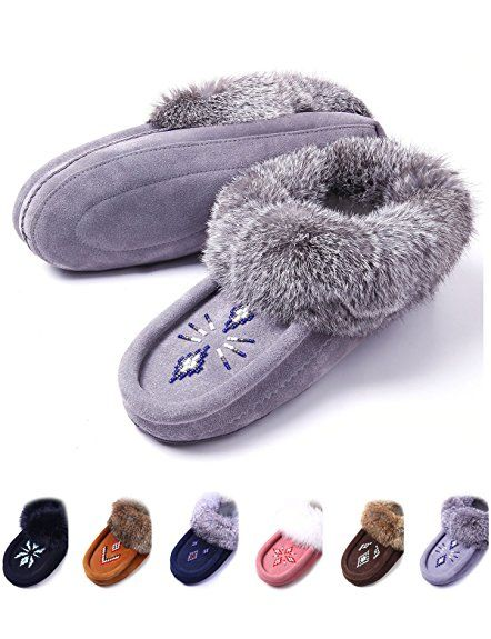 6c6743493be Women Moccasin House Slippers