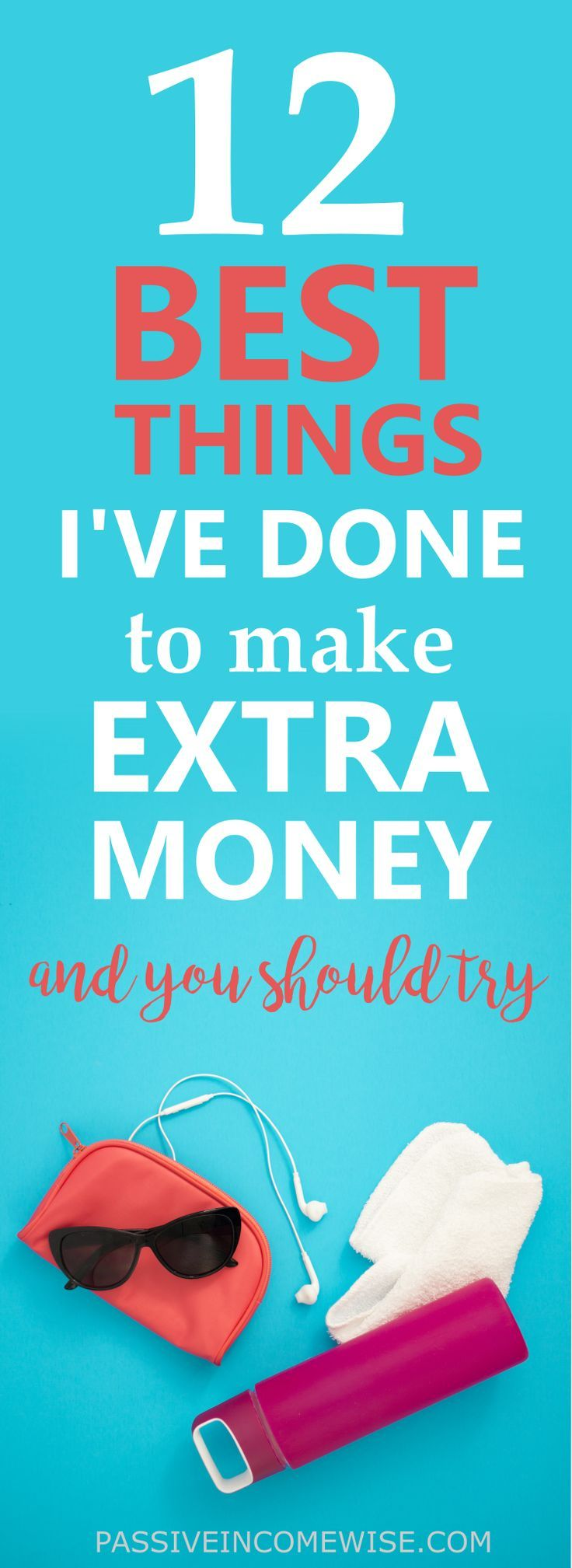 I've done a lot of things over the last years to earn some extra money, and they helped me improve my life. I'm still doing some of the things listed below because I'm saving money to buy my first house which will allow me to have more financial freedom.