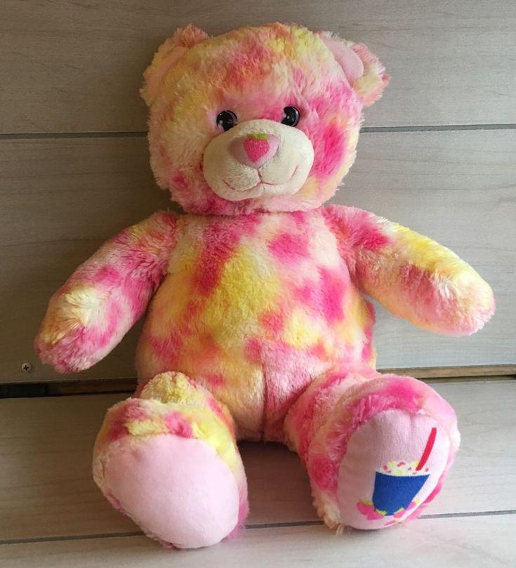 A32 Build A Bear DQ Strawberry Cheesecake Plush! 16 Inch Lovey Stuffed Toy | Dolls & Bears, Bears, Build-a-Bear | eBay!