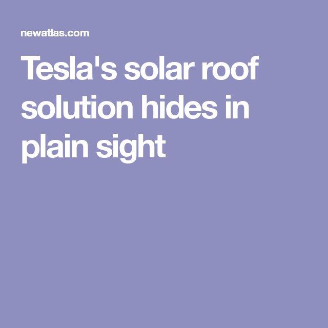 Best 25 Solar Roof Tiles Ideas On Pinterest Roof Solar
