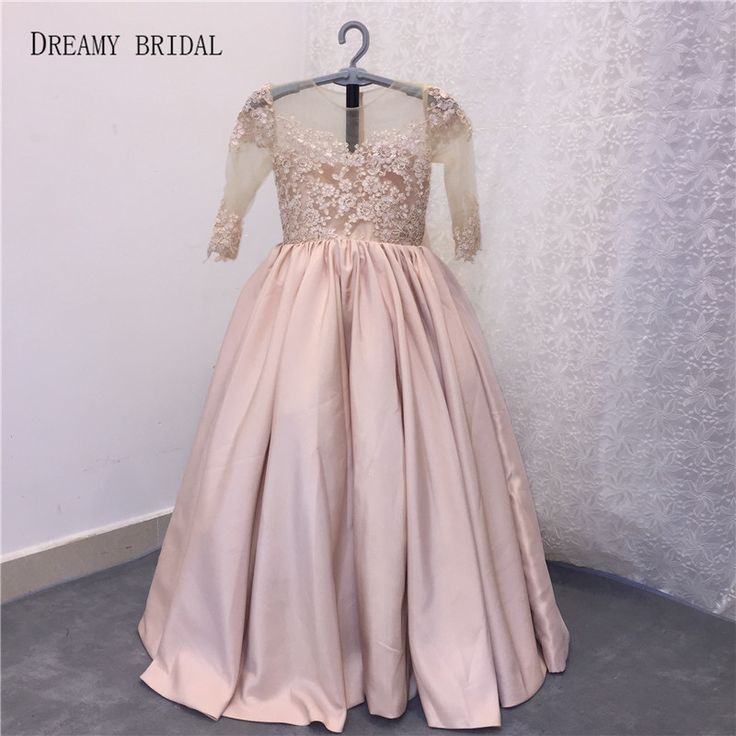 Cheap communion flower girl dresses, Buy Quality girls pageant dresses directly from China flower girl dresses Suppliers: Dreamy Bridal Cute Baby Ball Gown Girl's Pageant Dresses Half Sleeve Vestidos De Primera Communion Flower Girl Dresses