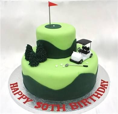 61 best Golf cake images on Pinterest Golf cakes Golf themed