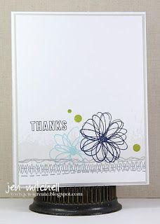 CAS(E) This Sketch 164! | I Create | thank you card