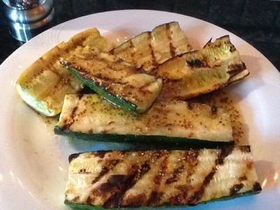 Quick easy summer side dish Dining with a Dinergirl: Zucchini on the Grill