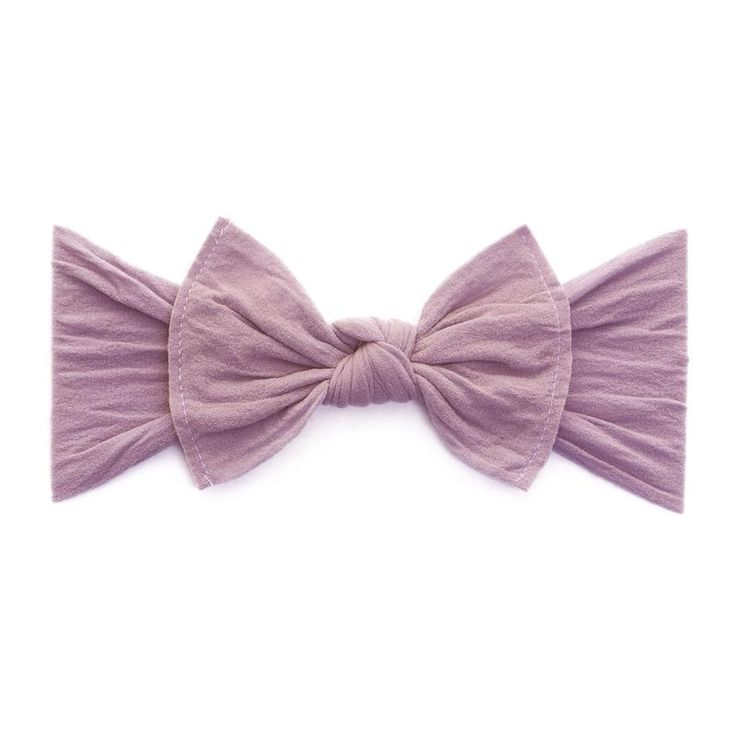 KNOT: mauve | Baby Bling Bows