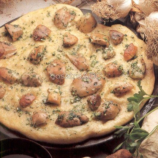 Gombás pizza | Receptek