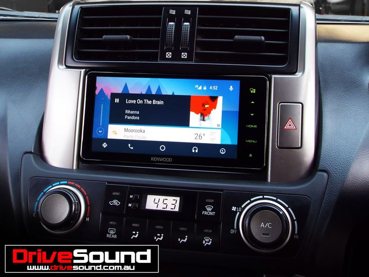 Toyota 150 Prado with Android Auto installed by DriveSound.