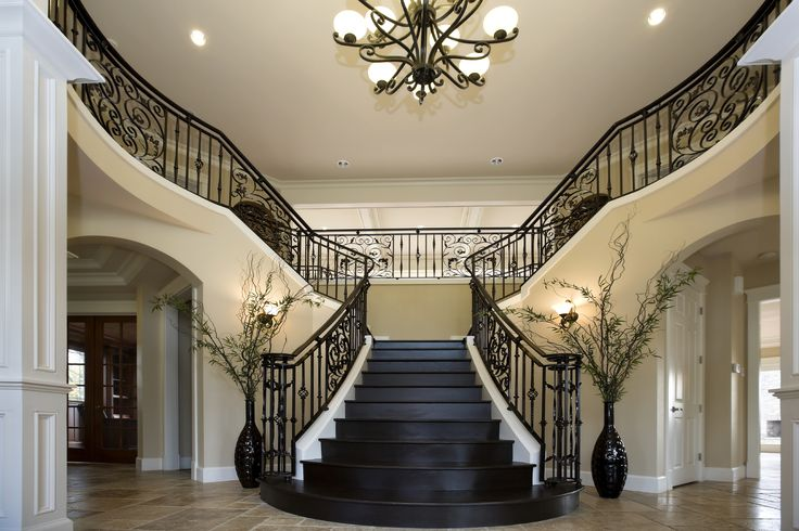 Beautiful Mansion Foyers : Best images about beautiful homes grand entryways