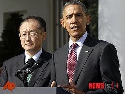 Jim Yong Kim, new world bank chief