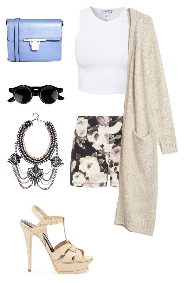 """""""Spring Forward Fall Back"""" by killaincontrol ❤ liked on Polyvore featuring Dorothy Perkins, Estradeur, Monki, Boohoo, ASOS and Yves Saint Laurent"""