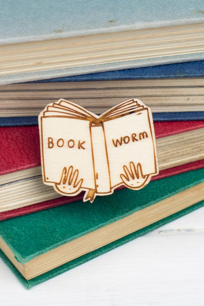 A pin for those whose nose is constantly in a book