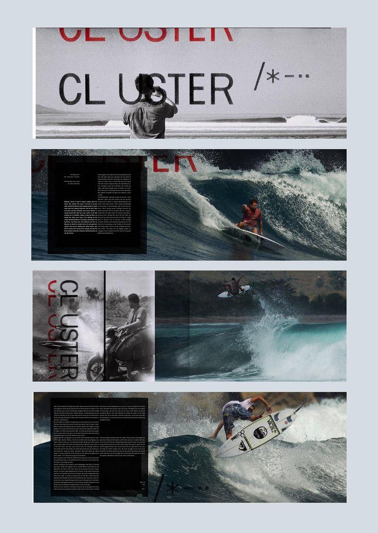 Cluster feature. Issue 46. #editorialdesign #layout #typography #monsterchildren #printdesign
