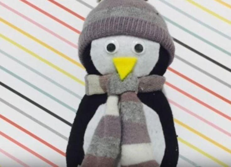 Avec une simple chaussette, préparez-vous à faire la plus adorable des décorations pour les Fêtes