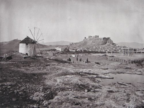 The Acropolis, From the Hill above the Ilissus, Looking North-West; 1869. William James Stillman (American, 1828–1901) - MoMA