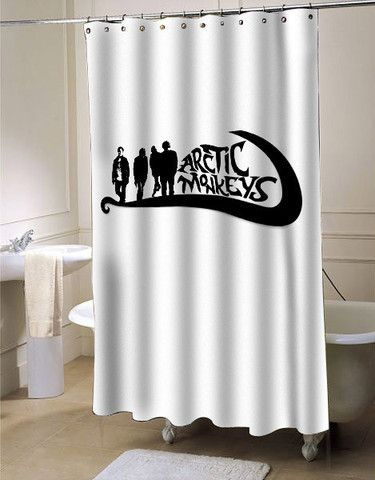 Artic Monkey New Logo shower curtain customized design for home decor