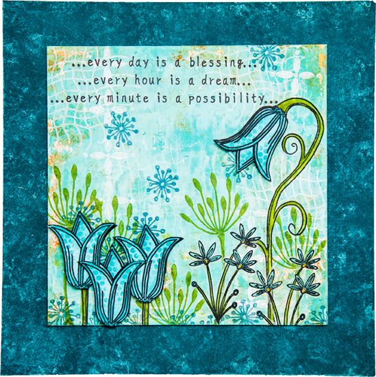 PaperArtsy: NEW {July 2015} PaperArtsy Products: Eclectica³ Lin Brown - Part 1