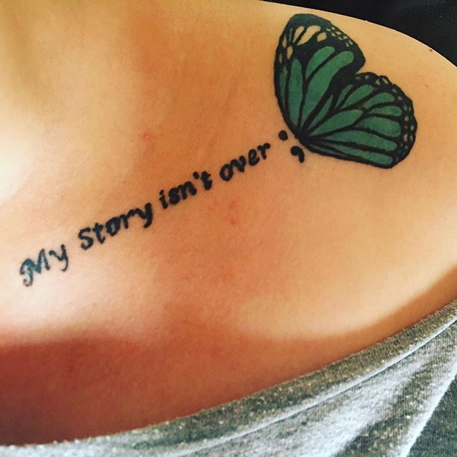Top 25+ Best Collarbone Quote Tattoos Ideas On Pinterest