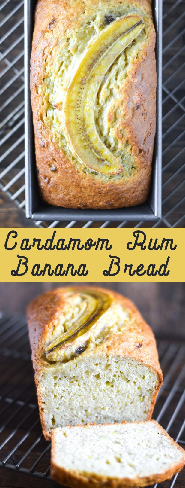 You can never have too many banana bread recipes, right? This Cardamom Rum Banana Bread is perfect for toasting and slathering with almond butter! via @mymoderncookery
