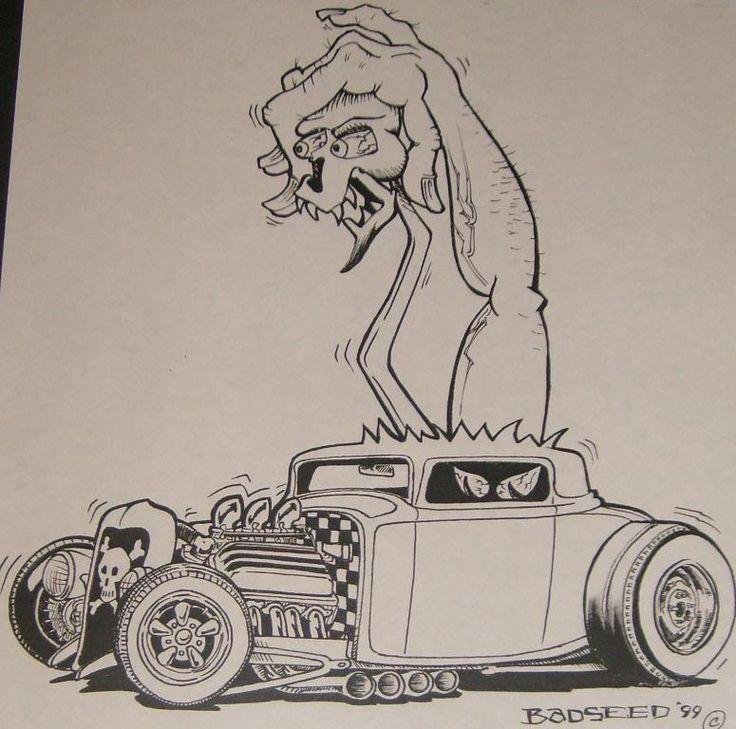 Rat Fink Mooneyes Car Show | im new here, kinda rat fink style - Auto Art - Model Cars Magazine ...