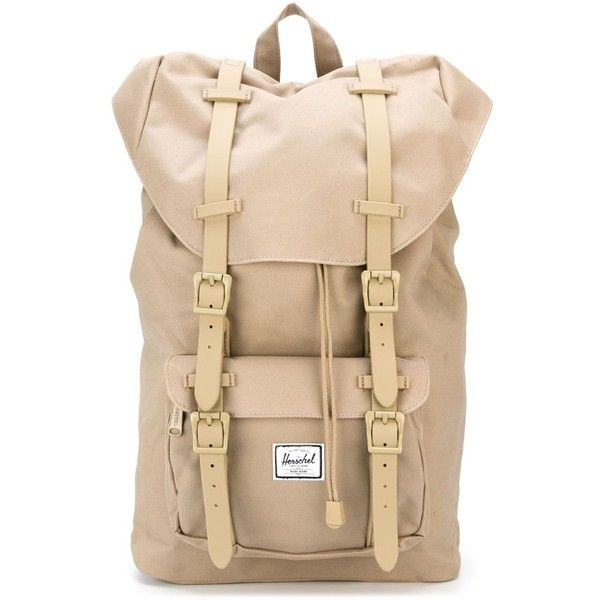 Herschel Supply Co. Little America Backpack ($106) ❤ liked on Polyvore featuring…