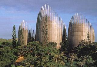 Tjibaou Cultural Center - Noumea, New Caledonia