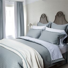Carlingdale Limoges Collection - Blue: Duvet Cover Sets, Bamboo Sheets, Tencel Sheets, Bedding, Quilts & Linens, And More