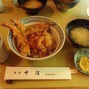Nakasei - Best tempura restaurant in Asakusa Tokyo - Kakiage tendon set at lunch affordable.  100 yr old shop