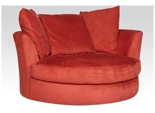 Cuddler Swivel Sofa Chair.. want!