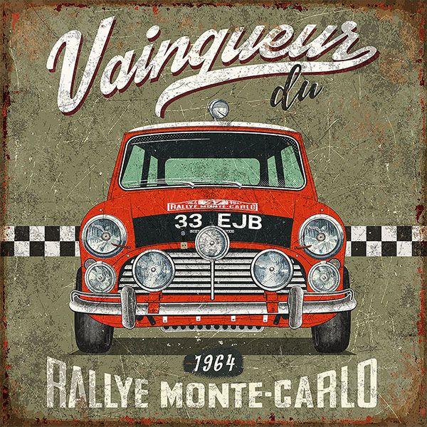 Rallie Montecarlo vintage ads © bruno pozzo 2016 More