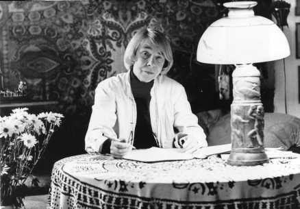 Tove Jansson, creator of the Moomins