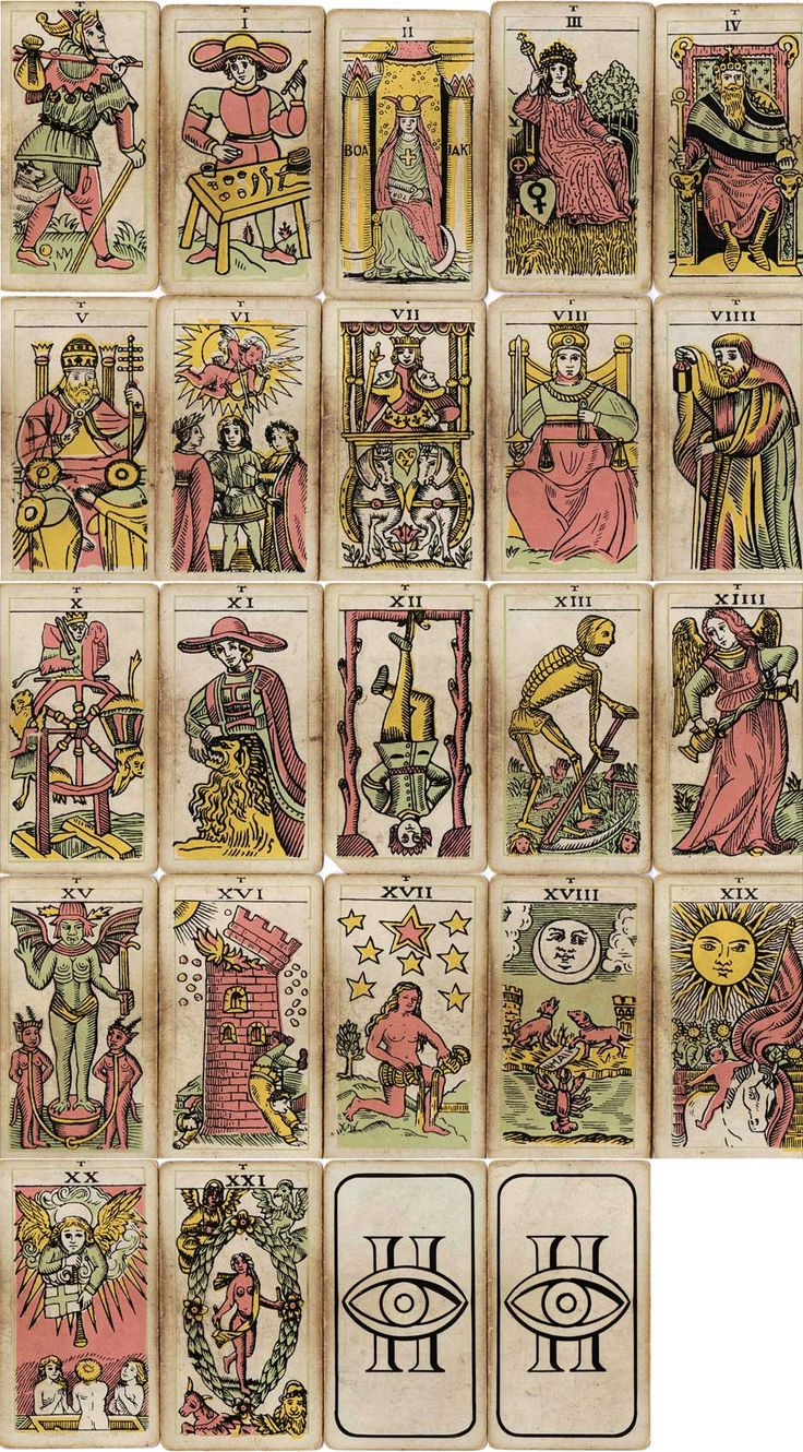Insight Institute Tarot Trumps, First Published In C.1948