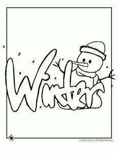 83 best images about winter kleurplaten on Pinterest  Coloring