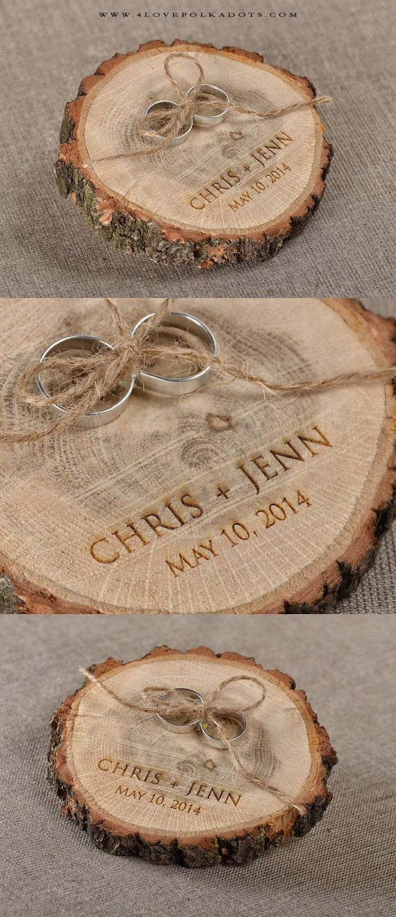 Wedding Wooden Ring Holder