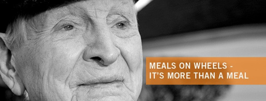 Meals on Wheels truly is more than a meal.  Caring volunteers deliver a hot nutritious meal as well as a daily social connection.  Check us out at www.meals-on-wheels.com