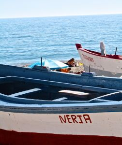 Nerja fishing boats
