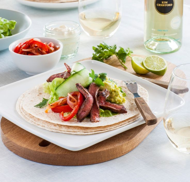 Mexican beef fajitas from www.chelseawinter.co.nz