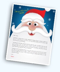 Another great letter explaining Santa to kids when that time comes...