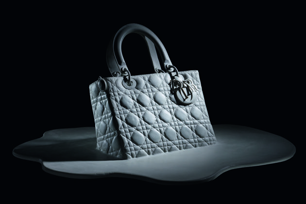 Lady Dior bag reviewed by young artists