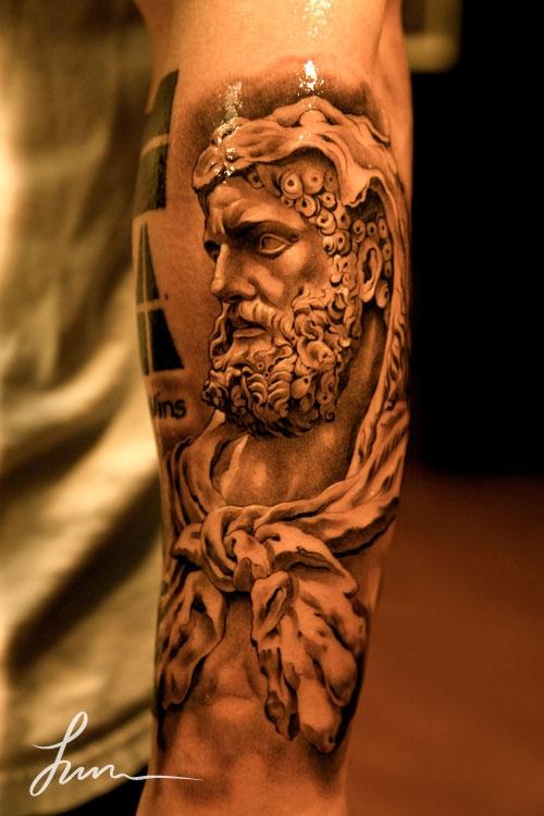 greek god tattoo sleeve | Tattoo brahs. | tattoos ...