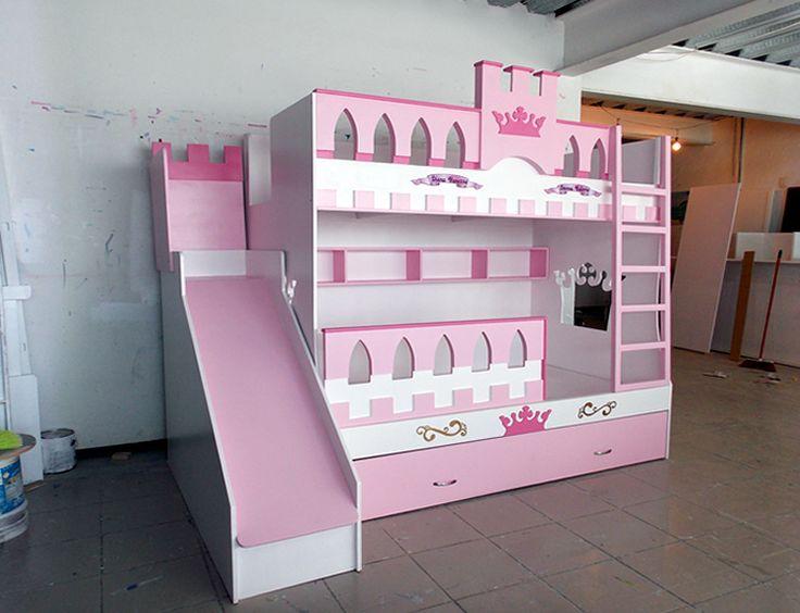 Mejores 143 im genes de recamaras de princesas en - Muebles de princesas ...