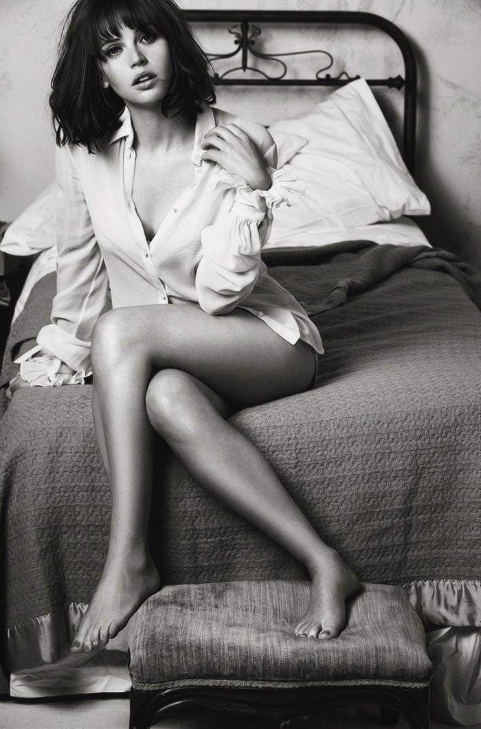 Felicity Jones - GQ magazine November 2014 issue
