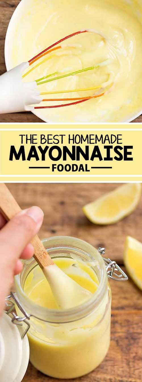 Homemade mayonnaise is simple to make and full of flavor, without any of the additives and preservatives that you�ll find in the premade stuff. If you�ve never tried making your own, you�re in for a surprise! With just a few ingredients and a bit of muscl