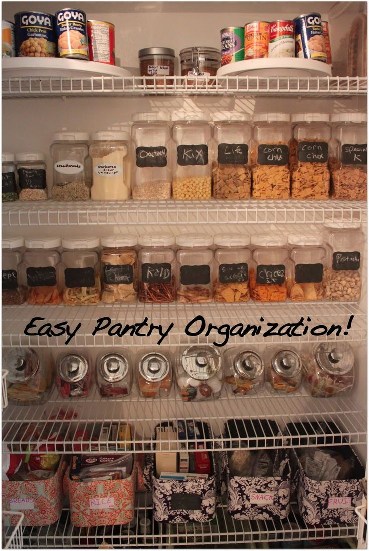 Organizing Kitchen Pantry 17 Best Images About Home Organization On Pinterest Storage
