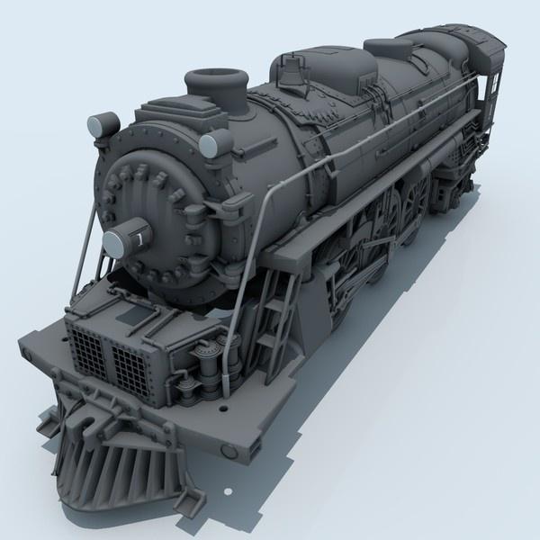 CGI - $59 - locomotive c4d - Locomotive... by Maxon4d